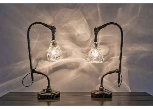 JASON WEIN MACHINE TABLE LAMPS