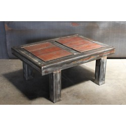 INDUSTRIAL BASE COFFEE TABLE