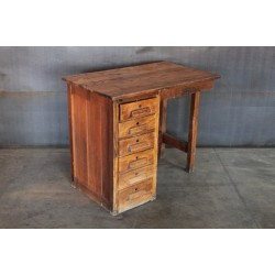 08.  SIX DRAWER DESK