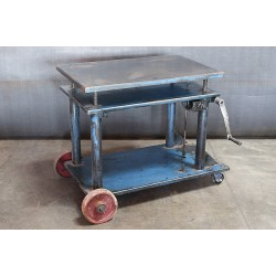 BLUE DIE CART