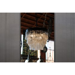 CASCADING WATER CHANDELIER - 24""