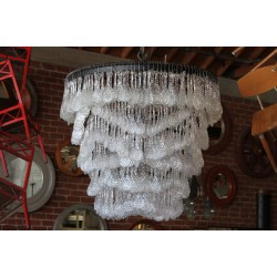 CASCADING WATER CHANDELIER - 40""
