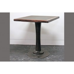 BAR HEIGHT PEDESTAL TABLE - CHALKBOARD TOP