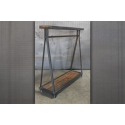 JASON WEIN CLOTHING RACK WITH SHELF