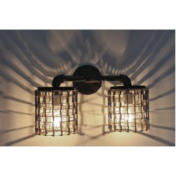 CONVEYOR SCONCE - TWO HEAD