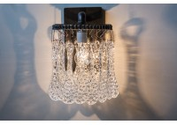 JASON WEIN CRYSTAL SCONCE - RECTANGLE BACKPLATE