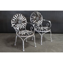 FRANCOIS CARRE GARDEN CHAIRS
