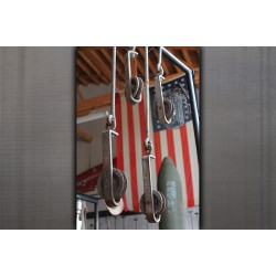 GALVANIZED HOOKS WITH PULLEY