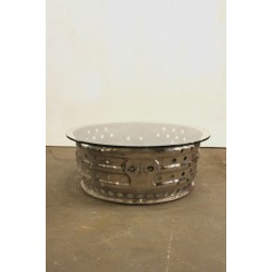 HIGH POLISH JET COWLING TABLE BASE