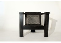 PERFORATED STEEL CHAIR