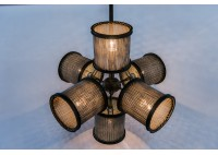 JASON WEIN WIRE MESH SHADE CLUSTER LIGHT