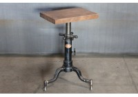 SIDE TABLE WITH MICROSCOPE BASE