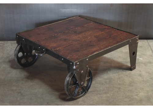 PEG LEG FACTORY CART