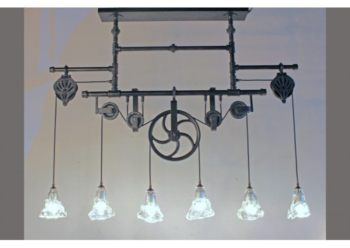 Pulley chandelier aloadofball Image collections