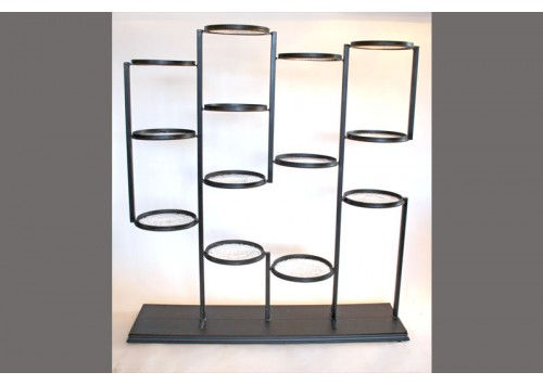 GLASS RONDEL SHELF