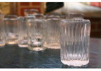 HAND BLOWN SHOT GLASSES