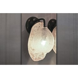 GLASS GLOBE SCONCE