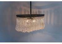 JASON WEIN OVAL CRYSTAL CHANDELIER - SMALL