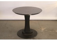 STEEL TOP PEDESTAL TABLE