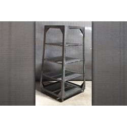 4 TIER STEEL SHELF UNIT