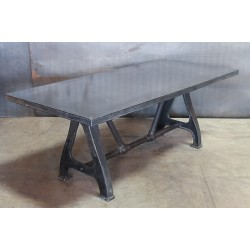 STEEL TABLE VINTAGE BASE