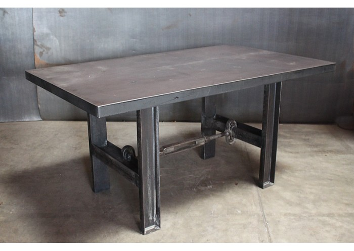 STEEL TURNBUCKLE TABLE - Stain steel table