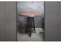 STEEL FRAME PUB TABLE