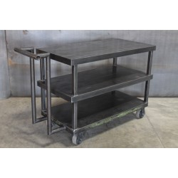 STEEL CART WITH HANDLE