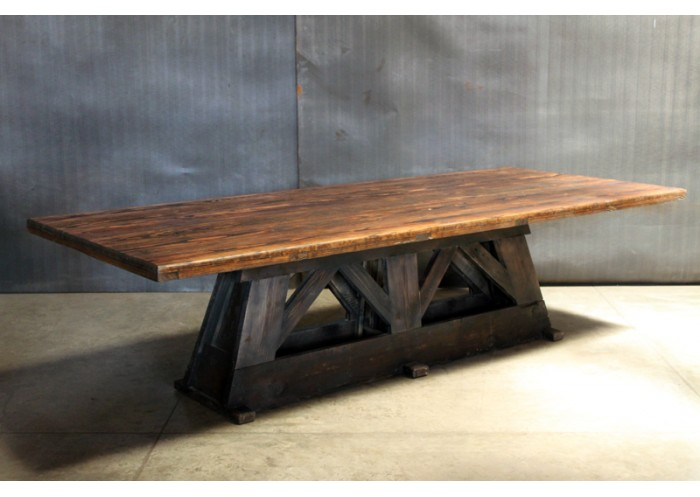 trestle table 3