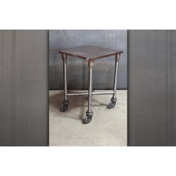 TURTLE CART WITH BARE METAL BASE