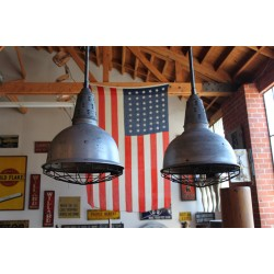 VINTAGE FACTORY LIGHTS