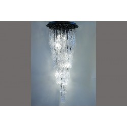 CRYSTAL WATERFALL CHANDELIER