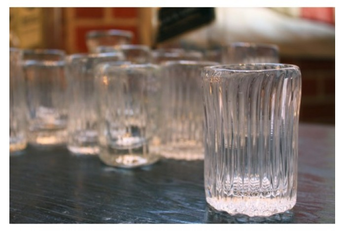 Hand Blown Shot Glass