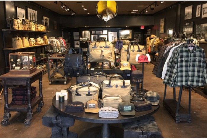 Filson - Retail Display