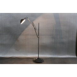 VINTAGE MACHINE ARM FLOOR LAMP