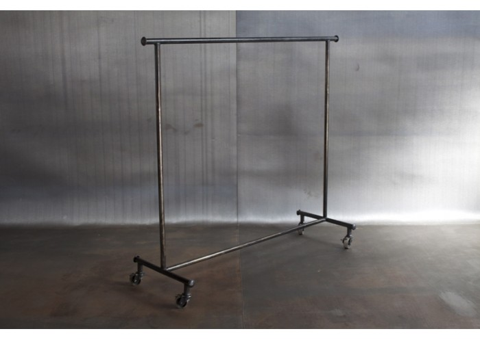 Jason Wein Steel Rolling Clothing Rack