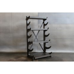 RECLAIMED PIPE RACK SHELVES
