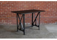 VINTAGE STEEL WORK TABLE