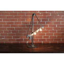 SCULPTURAL WRENCH LIGHT