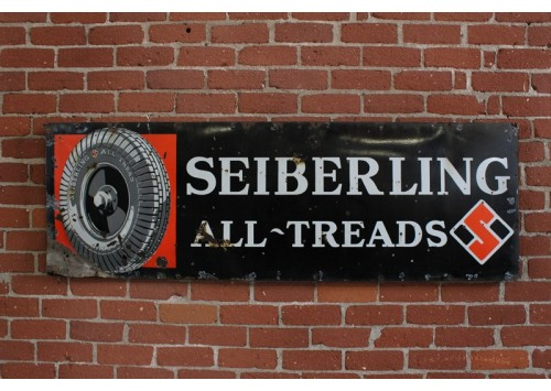 VINTAGE SEIBERLING SIGN