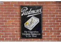 PIEDMONA CIGARETTES SIGN