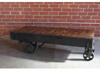 FACTORY CART COFFEE TABLE