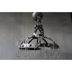 STEEL POT RACK