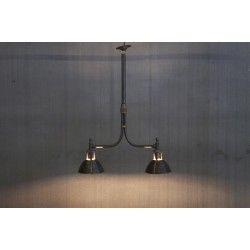 INDUSTRIAL LIGHTS W/ TWO SHADES
