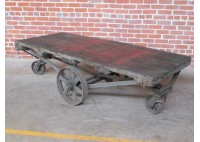 ANTIQUE FACTORY CART