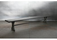 RECLAIMED STEEL BENCH