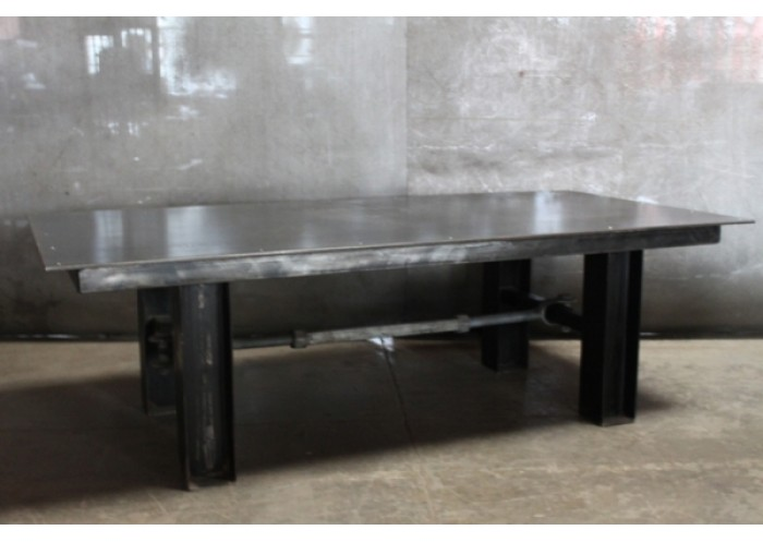 Steel Table W Turnbuckle Base