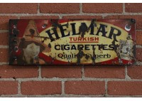 VINTAGE HELMAR CIGARETTES SIGN