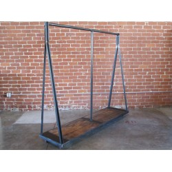 JASON WEIN A-FRAME CLOTHING RACK