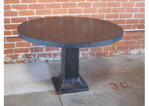 ROUND STEEL TABLE - 4'